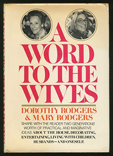 9780394452357: A Word to the Wives