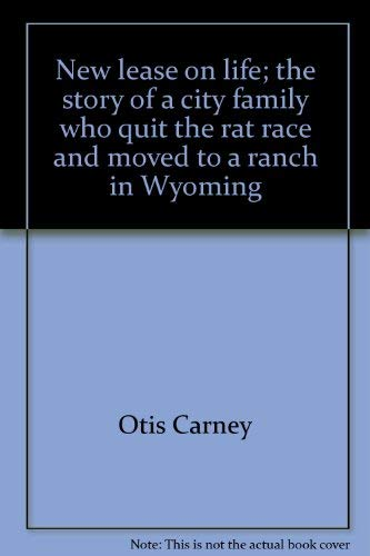 New Lease On Life 9780394460116: new lease on life;: the story of a city family who