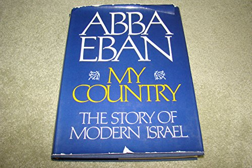 9780394463148: My Country: The Story of Modern Israel