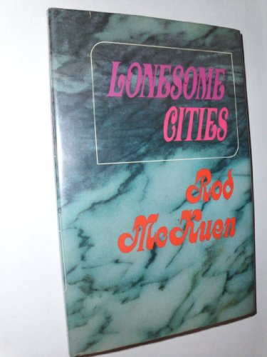 9780394467795: LONESOME CITIES. [Gebundene Ausgabe] by McKuen, Rod.