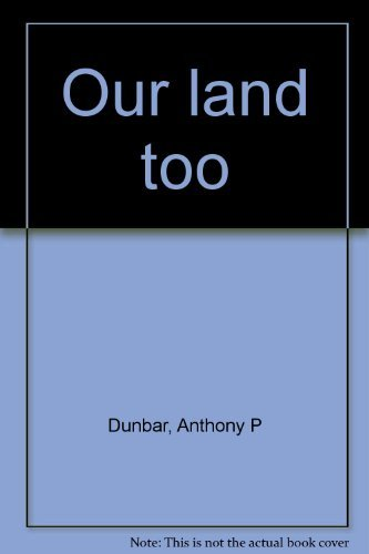 9780394468457: Our land too