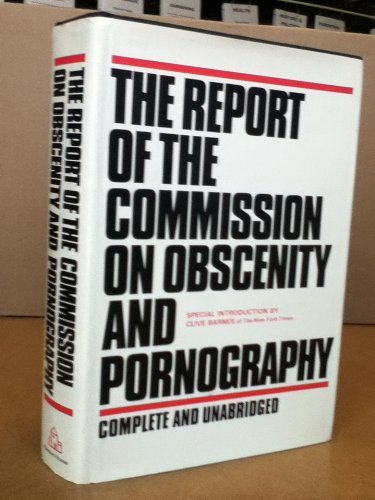 9780394469942: Title: The report of the Commission on Obscenity and Porn