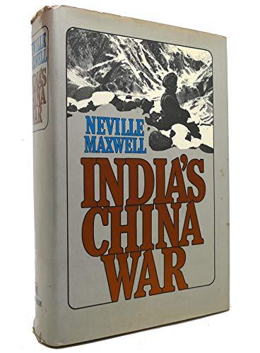 9780394470511: India's China war