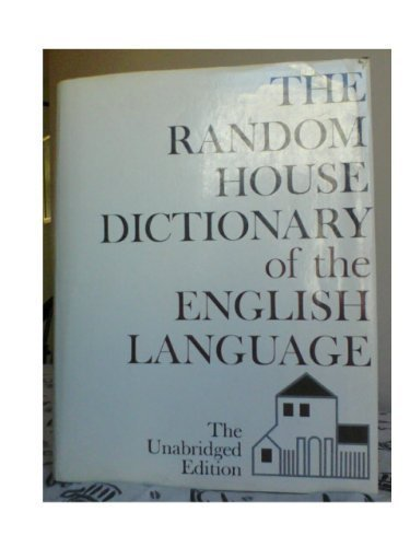 9780394471761: The Random House Dictionary of the English Language - The Unabridged Edition