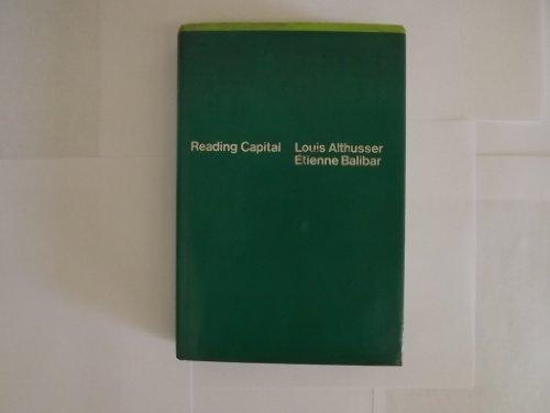 9780394472003: Reading Capital