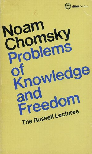 9780394472607: Problems of knowledge and freedom (The Russell lectures)