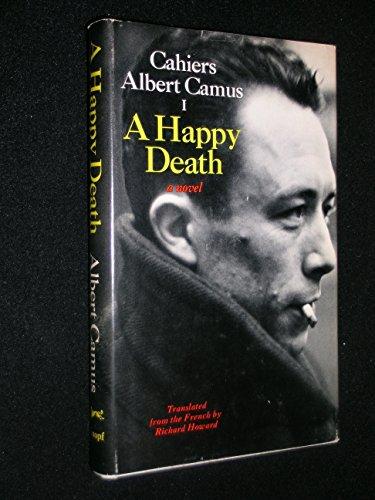 9780394472621: A Happy Death (Cahier, No. 1)