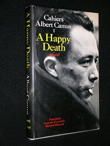 9780394472621: A Happy Death (Cahier, No. 1)