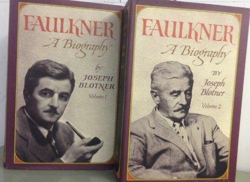 9780394474526: Faulkner: A Biography (Volumes 1 & 2)