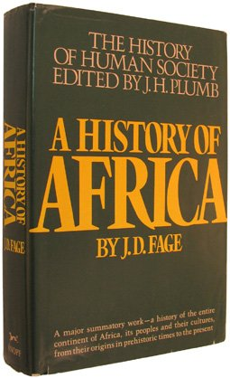 9780394474908: A History of Africa