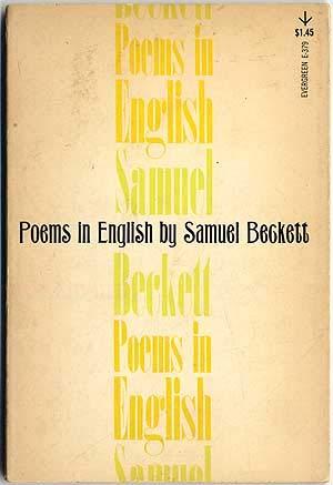 Poems in English: Beckett, Samuel