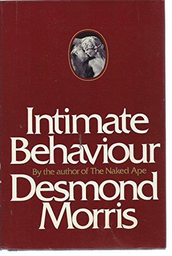 9780394479194: Intimate Behaviour