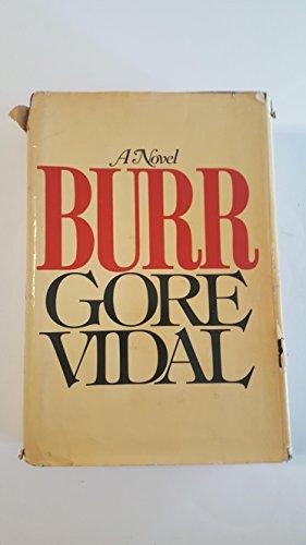 9780394480244: Burr: A Novel