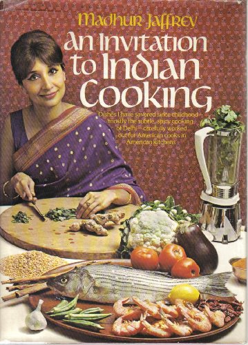 9780394481722: An Invitation to Indian Cooking