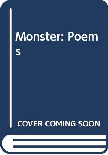 9780394482262: Monster: Poems