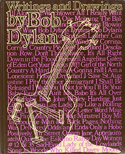 Writings and Drawings.: DYLAN, Bob.
