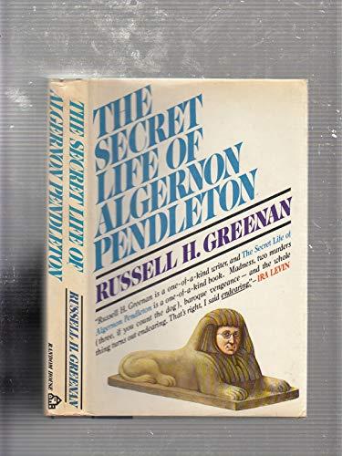 9780394482835: The Secret Life of Algernon Pendleton
