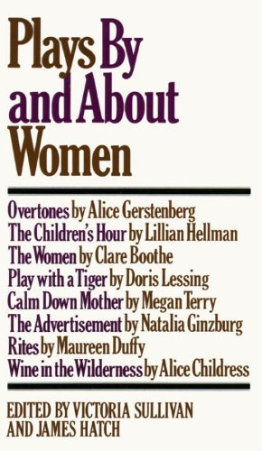 9780394483474: Plays by and About Women; An Anthology