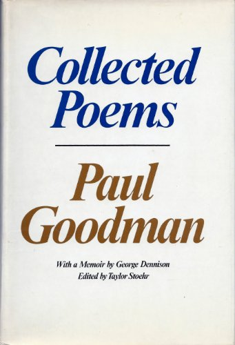 Collected Poems: Goodman, Paul