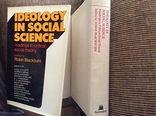 Ideology in social science;: Readings in critical: Lucio Colletti, Norman