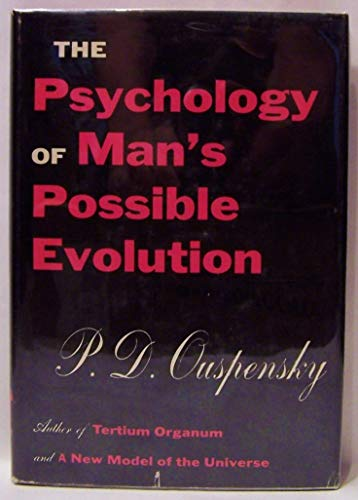 9780394487557: The psychology of man's possible evolution