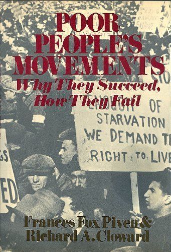 9780394488400: Poor People's Movements: Why They Succeed, How They Fail