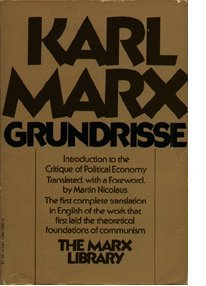 9780394489421: Grundrisse: Foundations of the critique of political economy (The Marx library)