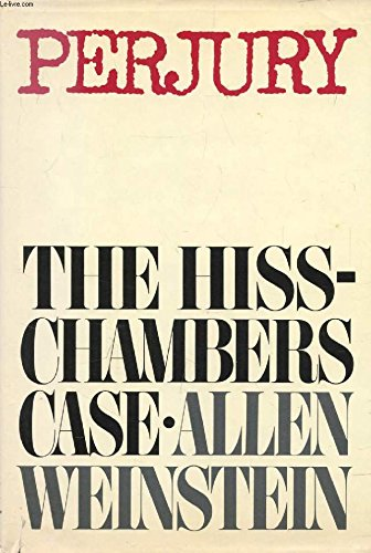 9780394491769: Perjury: The Hiss-Chambers case