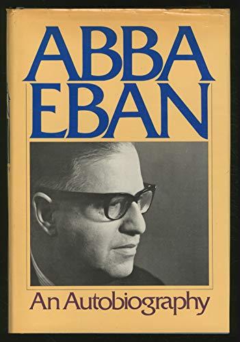 AN AUTOBIOGRAPHY: EbAN, ABBA