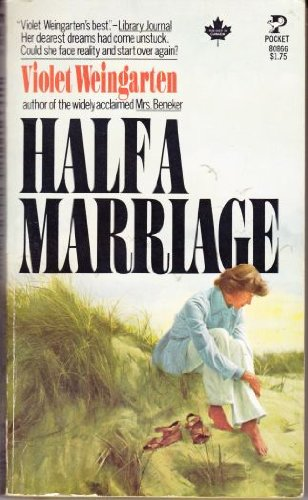 9780394493749: Half a marriage
