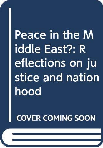 Peace in the Middle East?: Reflections on: Noam Chomsky
