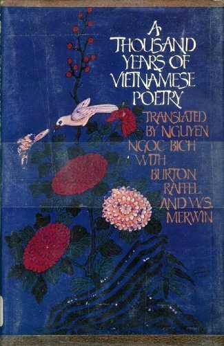 9780394494722: A Thousand Years of Vietnamese Poetry