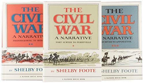 9780394495170: The Civil War, 3-Volume Box Set