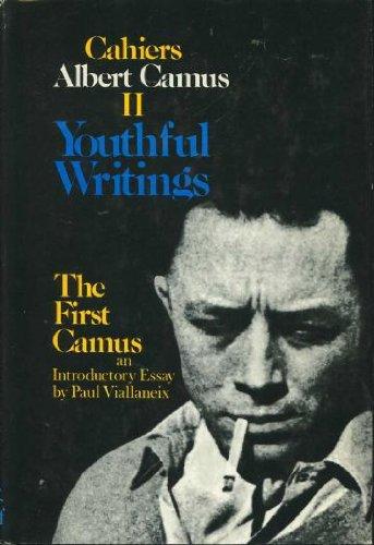 9780394495354: Youthful Writings