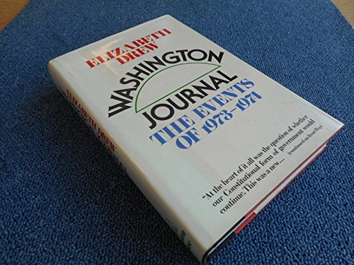 9780394495750: Washington Journal: The Events of 1973-1974