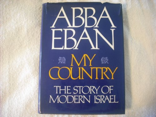 9780394497525: My country: The story of modern Israel