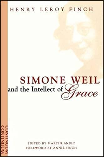 9780394498157: Simone Weil: A life