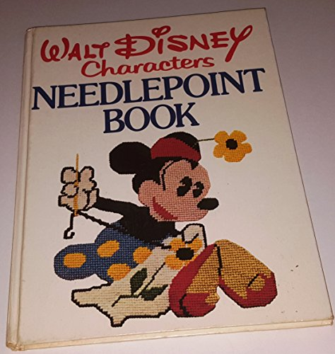 9780394499109: Walt Disney characters needlepoint book: Embroideries and needlework instruction