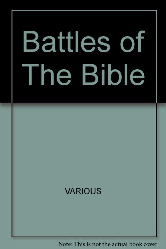 9780394501314: Battles of the Bible