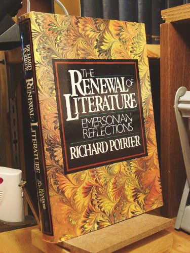 9780394501406: RENEWAL OF LITERATURE