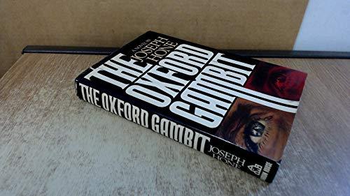 The Oxford gambit: Hone, Joseph