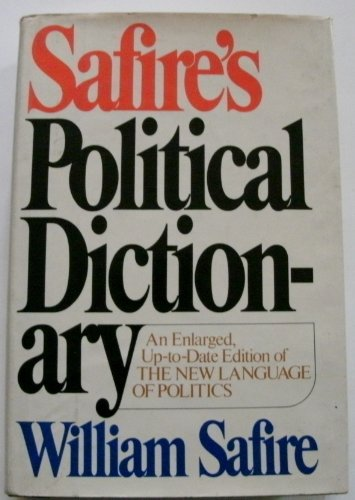 9780394502618: Safire's Political Dictionary