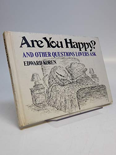 9780394502717: Are You Happy?: And Other Questions Lovers Ask