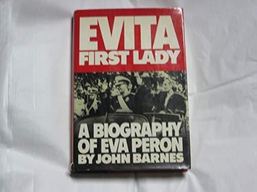 9780394502892: Evita: First lady : a biography of Eva Per¾n