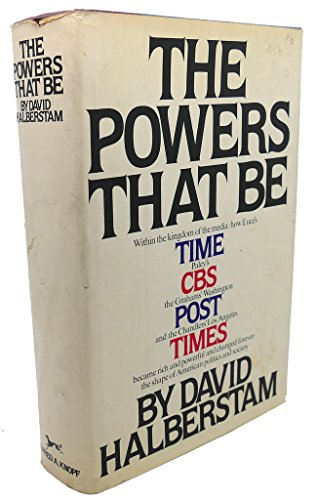 The Powers That Be: Halberstam, David