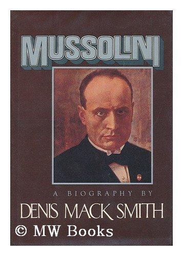 9780394506944: Mussolini