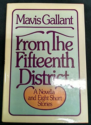9780394507194: From the Fifteenth District: A Novella and Eight Short Stories