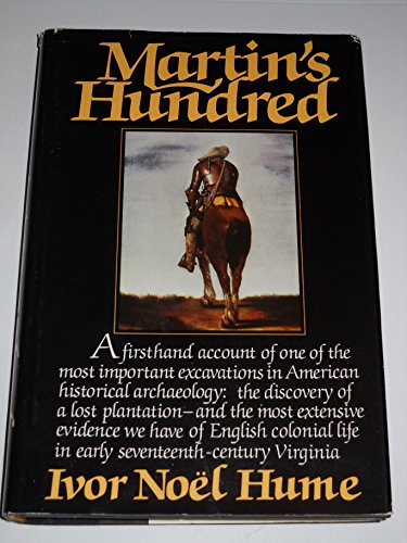 9780394507286: Martin's Hundred (The Discovery of a Lost Colonial Virginia Settlement)