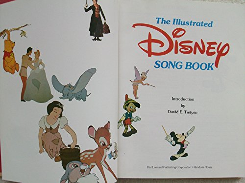 The Illustrated Disney Song Book: Walt Disney Productions