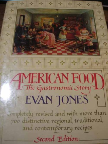 9780394508481: American food: The gastronomic story